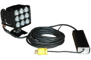 LED Spotlight offers high and low voltage capability.