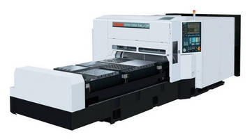 Laser Cutting System features 2.5 kW resonator.