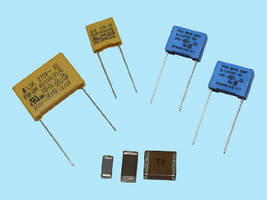 Tecate's Family of AC Safety Capacitors for X and Y Class Applications Features both SMD MLLCs and Metallized Polypropylene Radial Box Capacitors