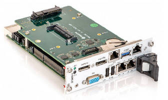 CompactPCI SBC supports machine and factory control.