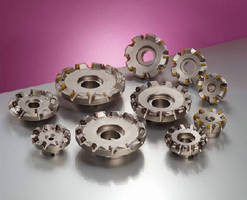 Face Mill machines iron and steel parts.