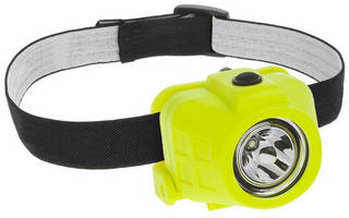 Intrinsically Safe LED Headlight offers dual operating modes.