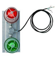 Dual-Color LED Signal Light has explosion-proof design.