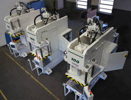 Greenerd Builds Three Hydraulic Presses for Automotive Parts Manufacturing Facility in Mexico