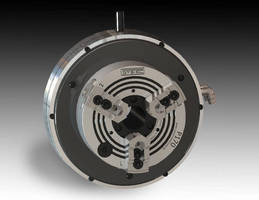 Front-Actuated Pneumatic Jaw Chuck Brings Automatic Workholding with Monster Grip Force to Manual or CNC Teach Lathes, Indexers, and Rotary Tables
