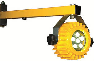 LED Loading Dock Light outputs 1,200 lm while consuming 18 W.