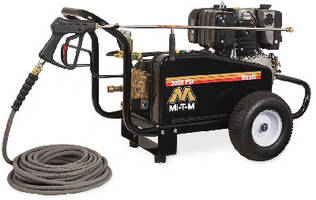 Pressure Washer delivers 3,000 psi of cleaning power.