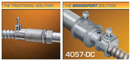 Bridgeport Makes Contractors' Jobs Easier with Industry's Most Extensive Line of Transition Fittings