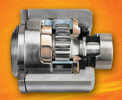 Positive Displacement Pumps feature optimized gear joint.