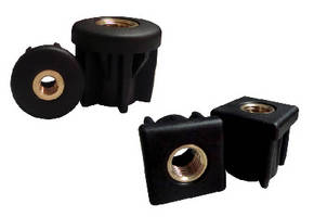 Threaded Tube Inserts offer thread sizes from 3/8-16 to ¾-10.