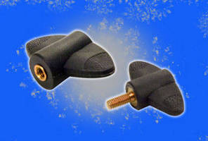 Metric Wing Knobs come with threaded insert or steel screw.
