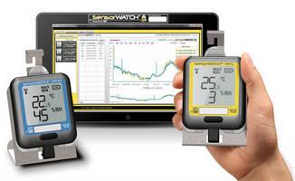 Humidity/Temperature Monitor eliminates manual record keeping.