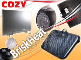NEW at BriskHeat - Cozy Products Comfort Heaters