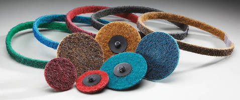 Surface Finishing Discs work with range of materials, equipment.