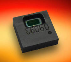 Digital Humidity/Temperature Sensor operates on 1.8 V.