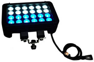 LED Light Bar offers selectable blue/white output.