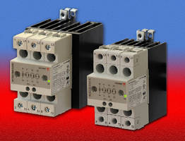 Solid State Relays and Contactors offer ratings up to 600 Vac.