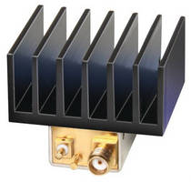 Coaxial Amplifier offers flat gain and high dynamic range.