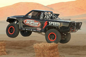 Lincoln Electric Named Exclusive Welding Supplier for Robby Gordon OFF-ROAD Stadium SUPER Trucks(TM) Series