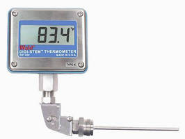 Thermocouple Thermometer affords applicational flexibility.