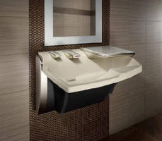 Lavatory System features touchless, sustainable design.
