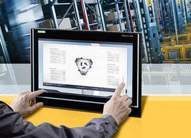 Industrial Monitor uses projected capacitive touch technology.