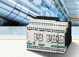 Condition Monitoring System supports vibration modules.