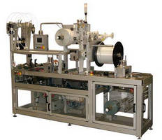 Compact Rollstock Machine has integrated zipper seal.