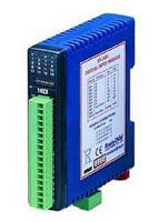 Distributed I/O Modules record real-time readings.