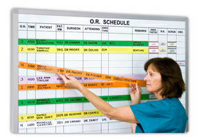 Magnetic Surgery Boards with Customized Protocols use LongLine Procedure Magnets to Speed Scheduling Changes