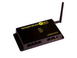 Remote Temperature Sensor uses wireless or wired Internet.