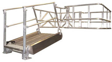 Flat Ramp Gangways offer safe access to any vehicle top.