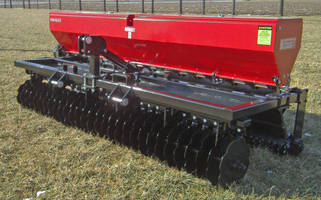 Multi-Varietal Seeder is offered in 10 ft wide model.