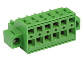 PCB Terminal Blocks carry 10 A rating.