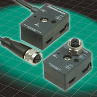 AS-Interface Splitters feature stainless steel coupling nuts.