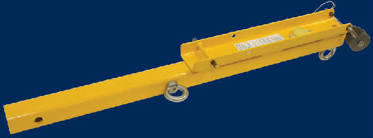 SRL Hitch Mount provides leading edge fall protection.