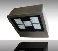 LED Flood and Area Lights feature wide open optics.