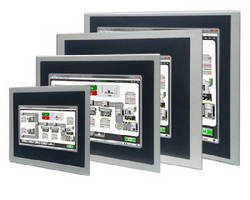 Operator Interface Panels support visualization and HMIs.