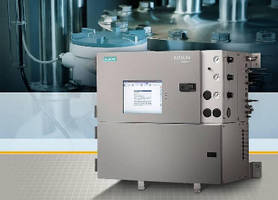 Gas Chromatograph features 10 in. color touch display.