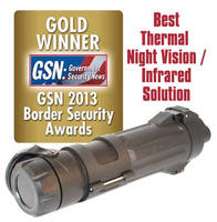 Infrared LED Illuminator works with night vision devices.