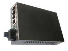 4-Port 10/100Base-Tx and 1-Port 100Base-Fx Ethernet Switch Supports MAC Self-Learning