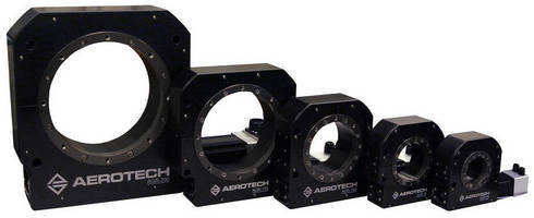 AGR Series Rotary Stages Offer Enhanced Performance in a Robust, Economical Worm-Drive Package