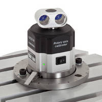 Rotary Axis Calibrator measures angular position to ±1 arc sec.