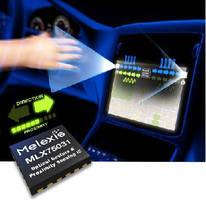 Optical Gesture and Proximity Sensing ICs suit automotive HMIs.