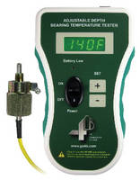 Hand Held Tester evaluates bearing temperature sensors.