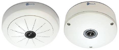 Hemispheric Cameras provide continuous 180° or 360° coverage.