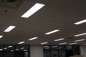 Global Lighting Technologies Retrofits Building with LED Lighting Using Company's Edge-Lit Light Guide Technology