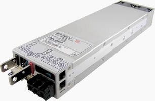 AC/DC Power Supply offer 92% efficiency with digital controls.