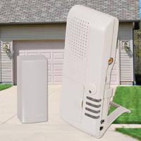 Talking Receiver alerts garage door status.