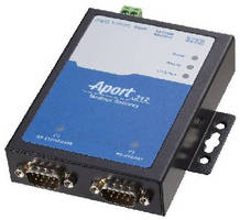 Modbus Gateway supports serial to Ethernet conversion.